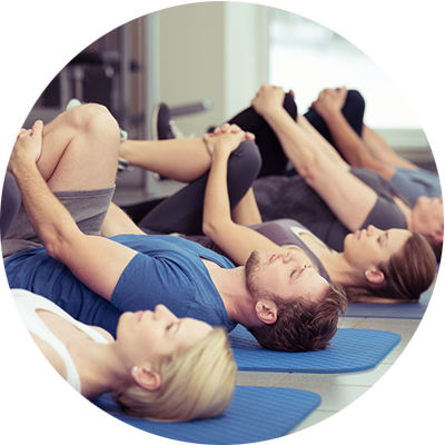Pilates One Studio Group Pilates mat class