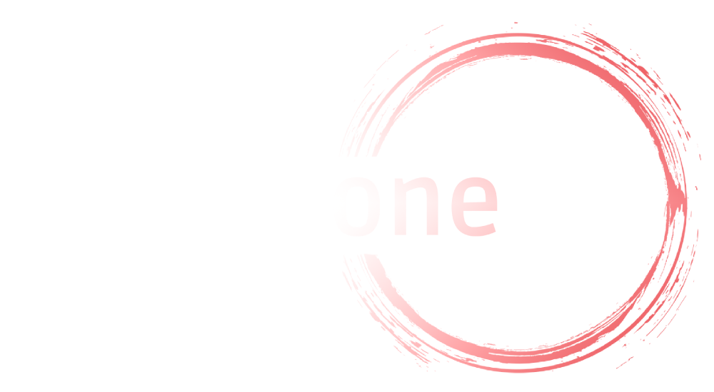 Pilates One Studio colour and white logo